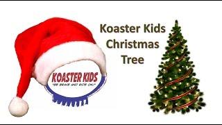 Koaster Kids Christmas Tree