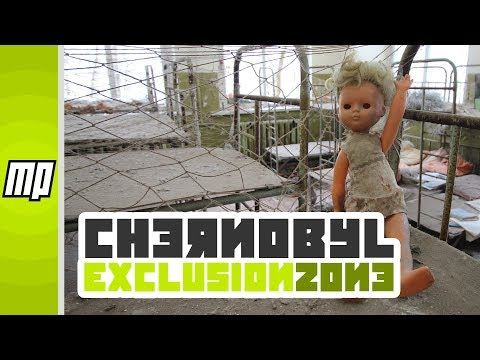 The Abandoned City of Pripyat in the Chernobyl Exclusion Zone