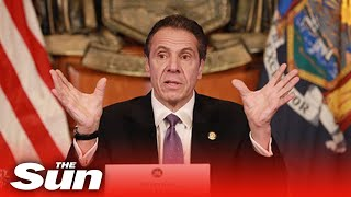 NY Governor Andrew Cuomo holds coronavirus update after protests flare up in New York