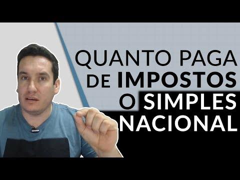 QUANTO PAGA DE IMPOSTOS UMA EMPRESA SIMPLES NACIONAL (ME)