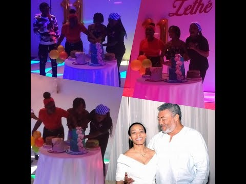 """WOOW!!! J.J RAWLINGS Grand Daughter Turns 11_Breathtaking """"BIRTHDAY PARTY"""""""