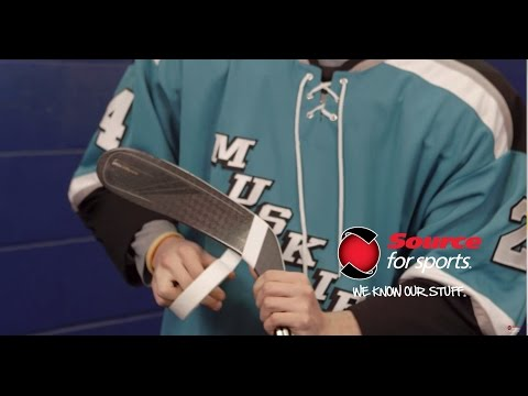 How To: Hockey Stick Taping | Source For Sports