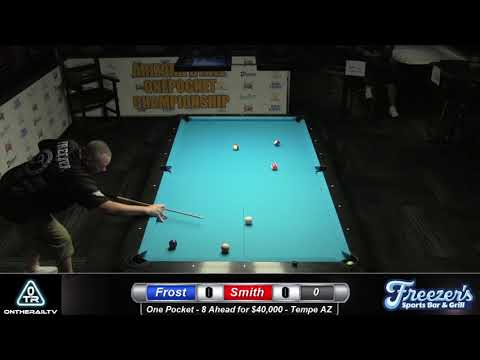 Scott Frost Vs Danny Smith - $40,000 One Pocket Match
