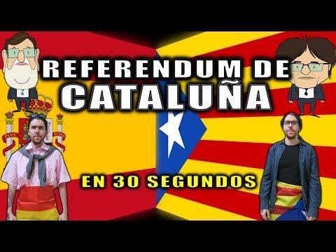 REFERENDUM DE CATALUÑA EN 30 SEGUNDOS