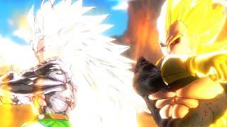 Goku SSJ5 and Rigor Fusion! (DBXV Mod)