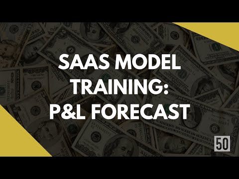 P&L Forecast Sheet | A Comprehensive Guide To Making A SaaS Model | 50Folds