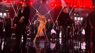 Jennifer Lopez - Papi / On The Floor ft Pitbull - AMA 2011