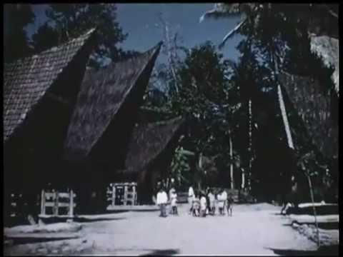 Sumatra, Indonesia-1955- A Batak Village and Traditional Music