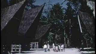 Sumatra, Indonesia-1955- A Batak Village and Traditional Music