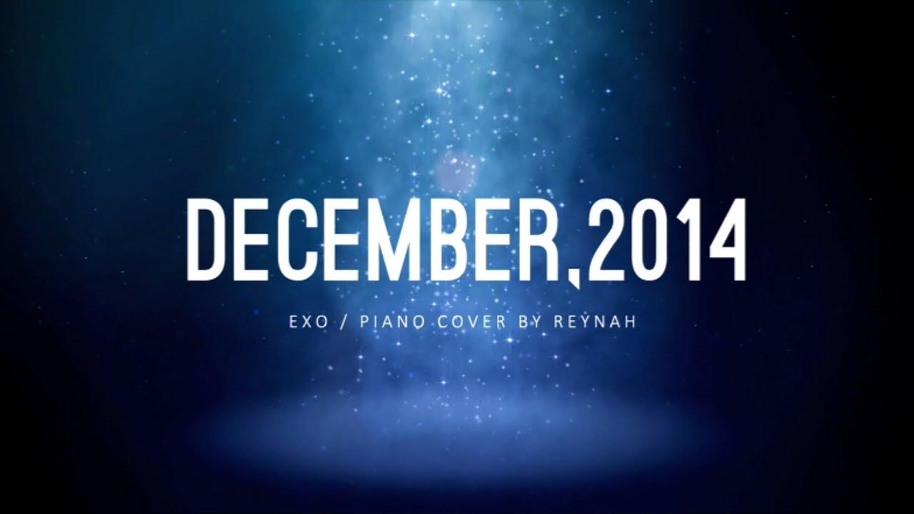 """December, 2014 (The Winter's Tale)"" Piano cover 피아노 커버 ..."