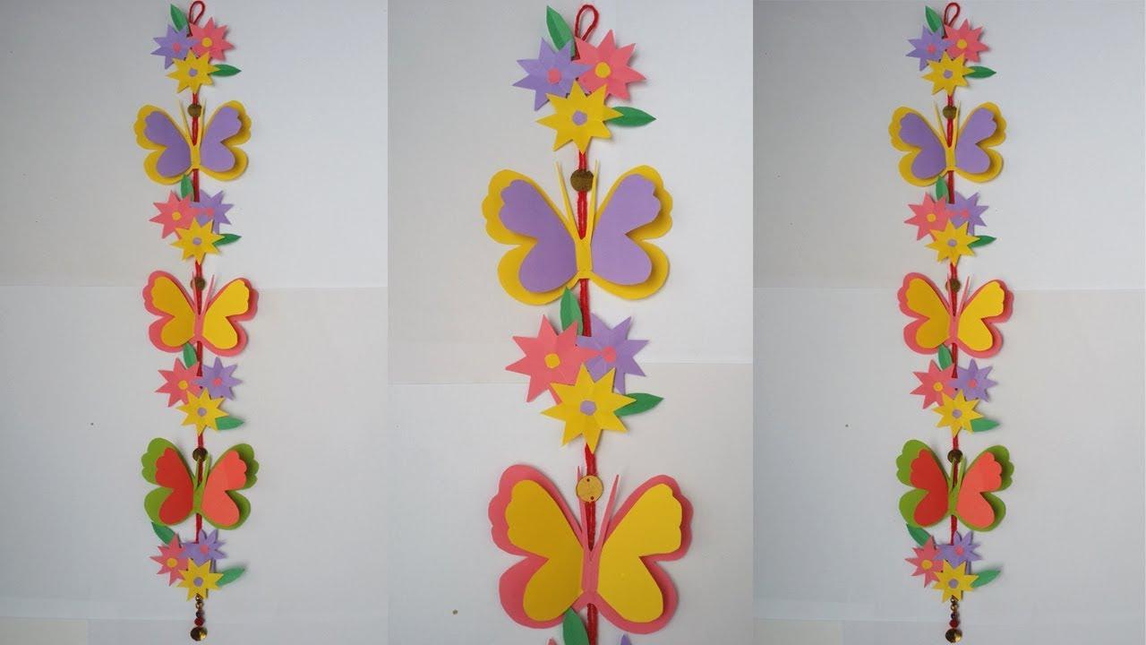 Diy Wall Hanging How To Make Beautiful Paper