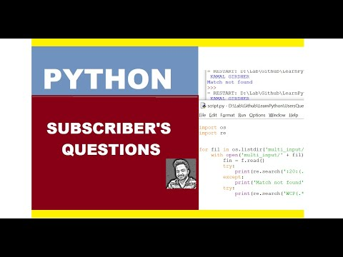 Python - Read From Multiple Files & Regex Search Pattern In Files