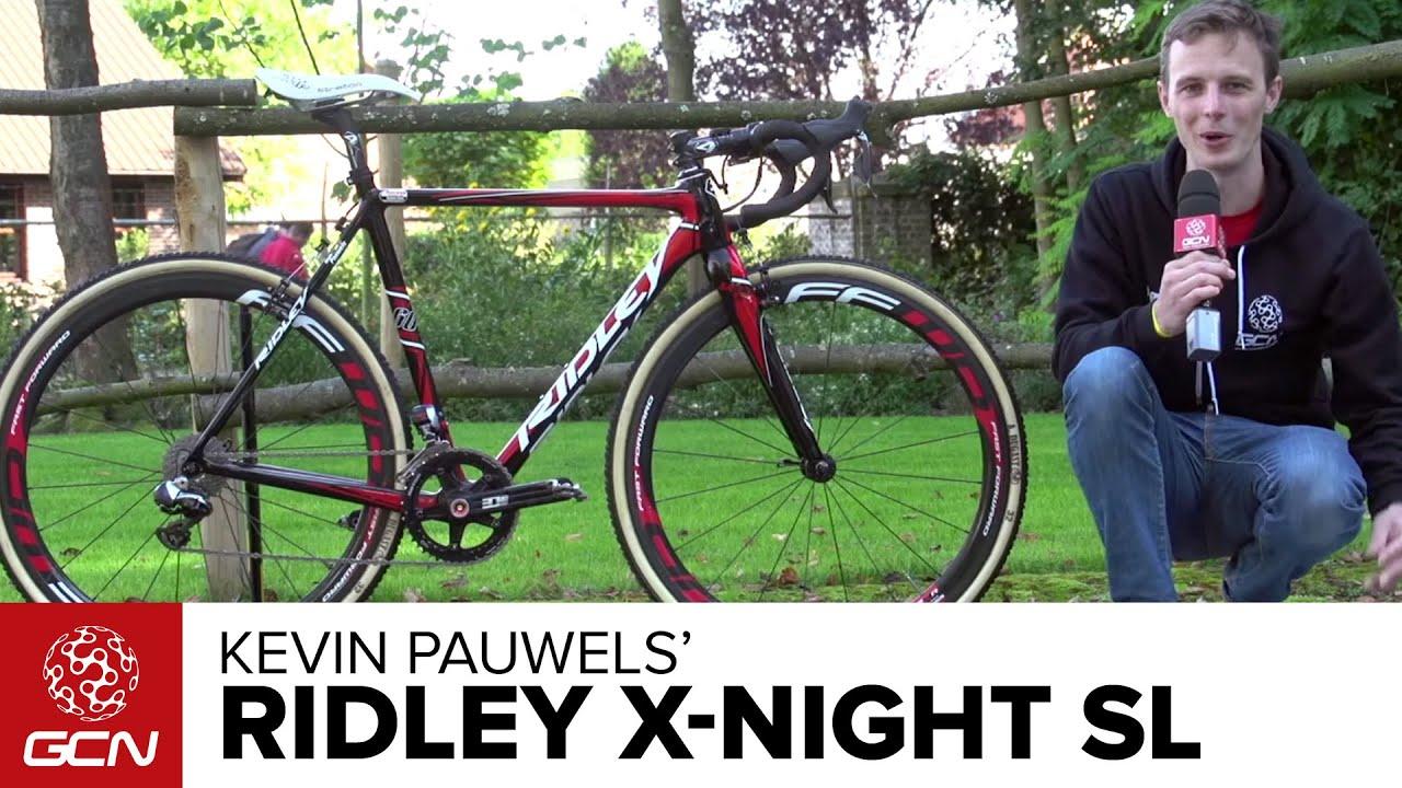 Kevin Pauwels: Kevin Pauwels' Ridley X-Night SL Cyclocross Bike