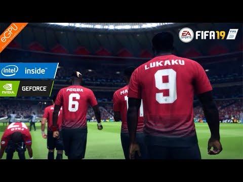 FIFA 19 On NVIDIA GeForce GTX 1050 Ti (eGPU)