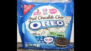 Baskin Robbins Mint Chocolate Chip Oreo Cookie Review