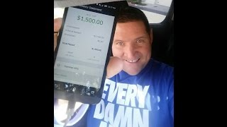 Do you get paid for Every Damn Mile? How about zero miles with Uber in one week and $1,500