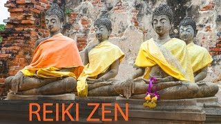 Meditation Zen Music 6 Hours: Reiki Healing Music, Stress Relief and Relaxation. Zen Garden ☯257
