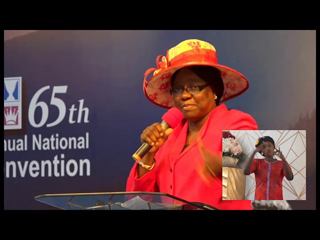 65th National Convention |Pastors' offspring fellowship Mummy G O Next Gen