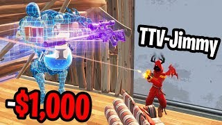 Donating to Twitch Streamers that kill me on Fortnite! (unbelievable)