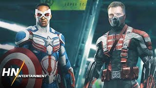 The first marvel disney+ series is falcon and winter soldier, now we have an official update on a couple of things from sebastian stan.thumbnail art by h...