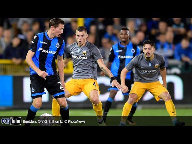 2017-2018 - Europa League - 01. 3de Voorronde - Club Brugge - AEK Athene 0-0