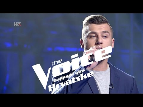 "Alen Đuras: ""Hello"" - The Voice of Croatia - Season2 - Knockout 2"