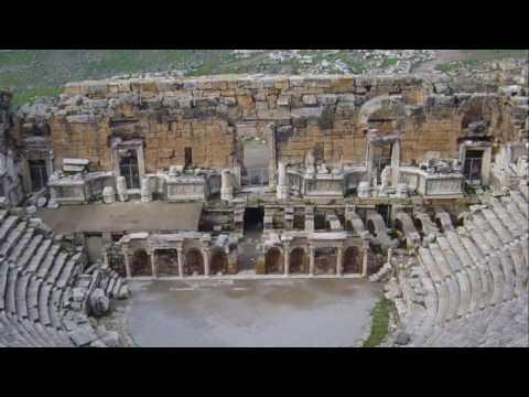 Wonders of the world - Pamukkale & Hierapolis (Turkey)