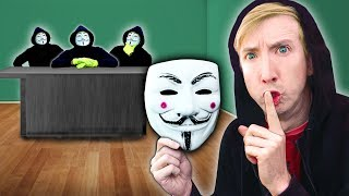 I CRASH HACKER MEETING (Project Zorgo Mystery Box Unboxing New Ninja Gadgets)