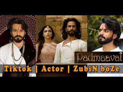 Hindi | Film | Padmaavat | Shahid Kapoor | Dialogue | Tiktok | Actor | ZubiN boZe
