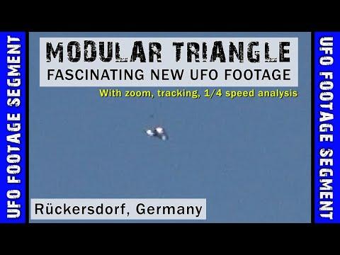 UFO SIGHTING VIDEO • Another Modular UFO • Rückersdorf DE