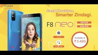 Gionee F8 Neo: Smart Khushiyan, Smarter Zindagi