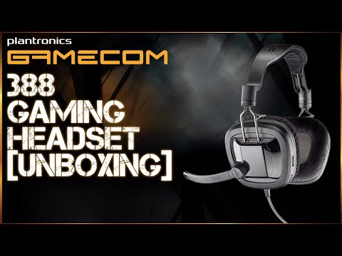 Plantronics Gamecom 388 Gaming Headset Unboxing