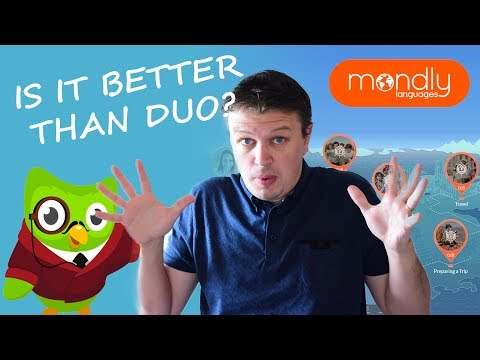 Mondly versus Duolingo - Language Learning App Showdown. Which is the best? Full review.