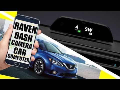 Raven Dash Camera Review: Make Your Car Smarter! LTE Connected Car Computer! - 동영상