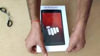 MICROMAX CANVAS TAB P681 UNBOXING