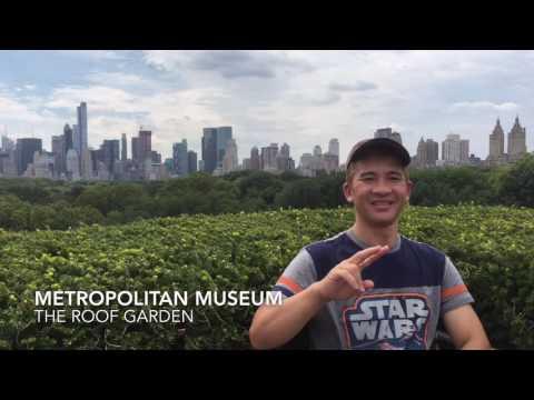 Metropolitan Museum - The Roof Garden (4K)