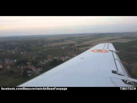 Fly To Your Dream 2014 - Landing in Embraer ERJ 145 at EBBE