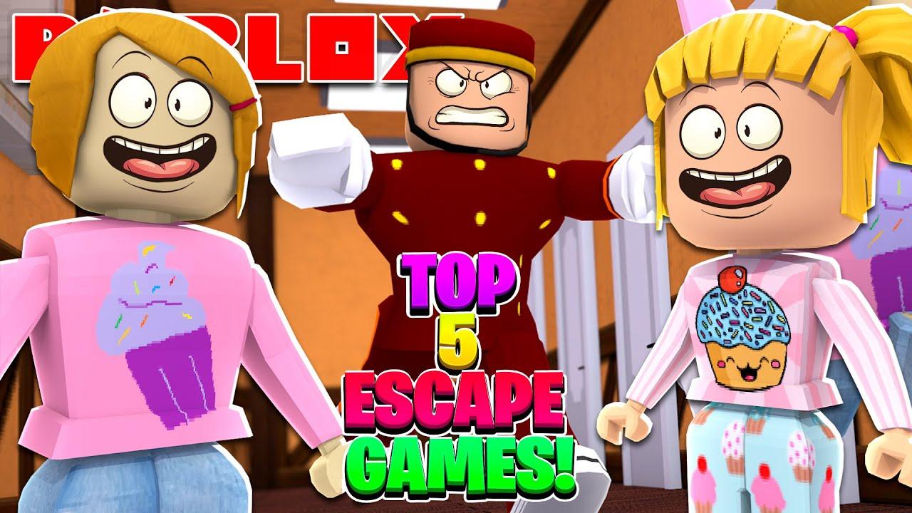 Top 5 Roblox Escape Games!