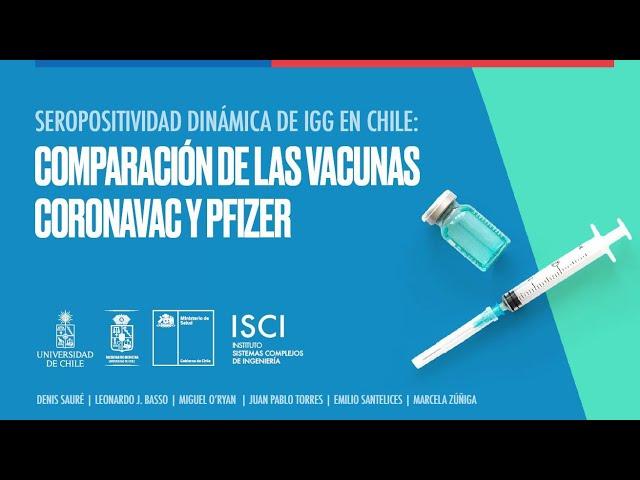 Presentación resultados y publicación The Lancet estudio Seroprevalencia SRA – Universidad de Chile