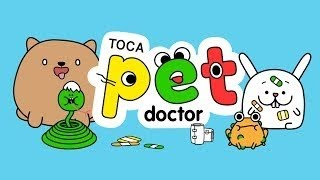 Toca Pet Doctor | Doctor Game App for Kids