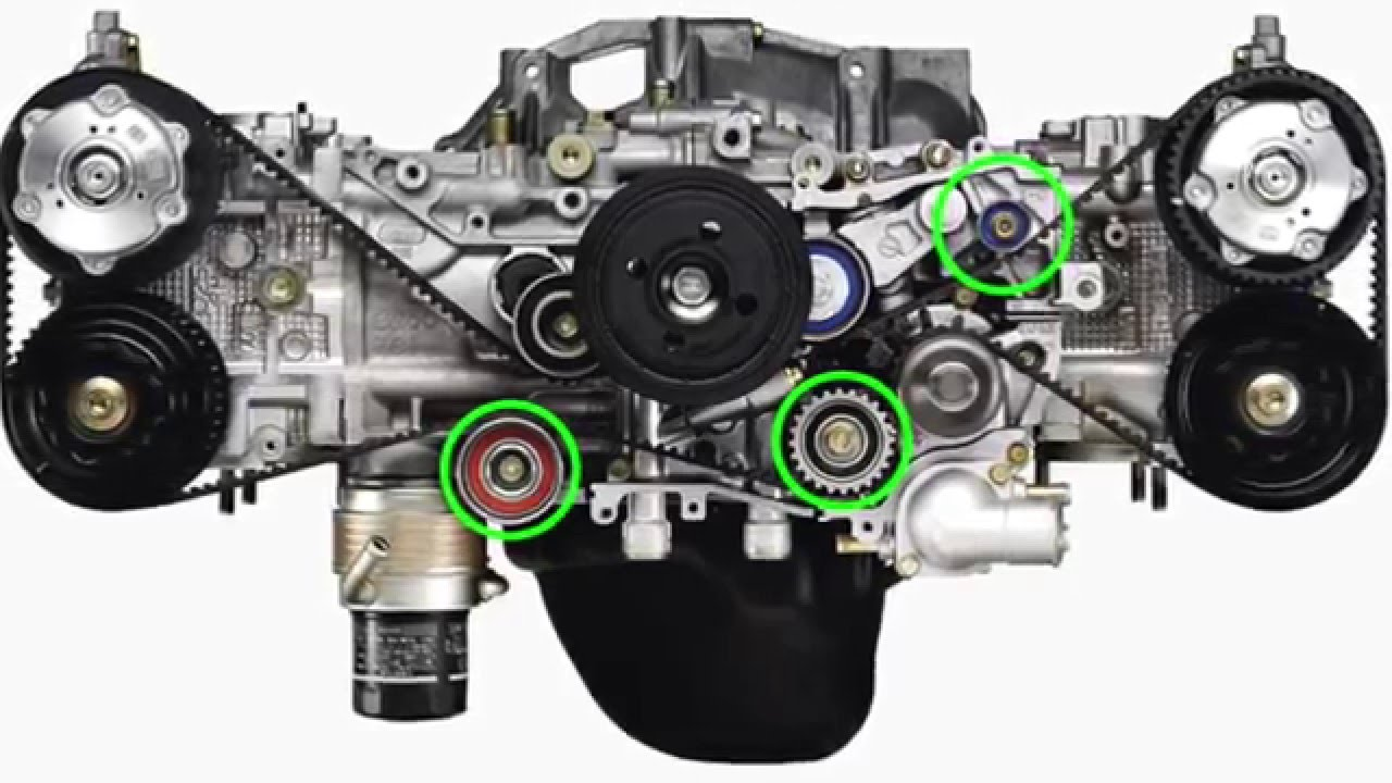 subaru time belt change youtube rh youtube com Subaru 2.5 Boxer Engine Subaru 2.5 Turbo Engine