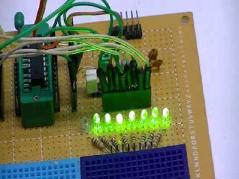 Using a Serial ADC with PIC16F628