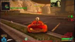 TMX(PS3) Uncut Live Gameplay(recorded): 2-Game Warm-Up w/ Kamikaze (27min)