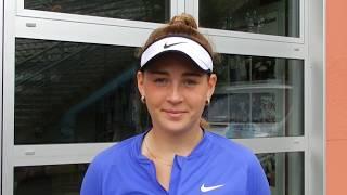 Теннис Анна Лагуза вышла в финал турнира в Берлине 2017 Интервью