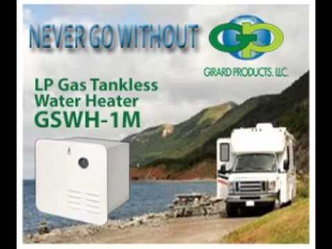 Rv Tankless Water Heater Commercial Girard Gswh 1m Youtube