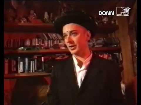 Boy George interview about being a DJ MTV