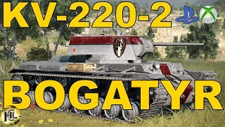 KV-220-2 Bogatyr Stalowy gigant [Wasze bitwy#82][Przemekz17082]Wot Xbox One/Ps4