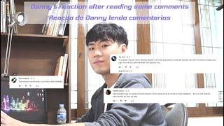 Baixar Reacao do Danny lendo comentarios (Por/Eng Sub) Kor Speaking