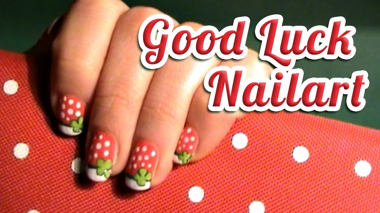 happy new year lucky charm nail art ♥ design that will bring you ...