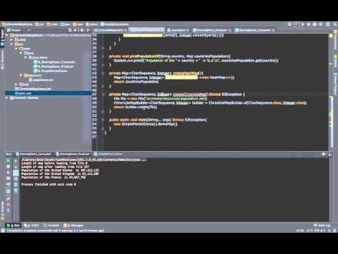 OpenHFT ChronicleMap - Tutorial 1